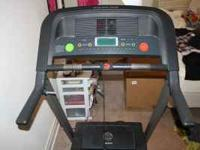 Treadmill - gold's gym 450. Good condition, rarely