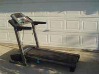 Like new treadmill Paid $700.00 asking $350.00. Proform