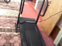 Good working condition treadmill foldable, has heart