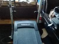 Smaller sized and barely used treadmill in perfect