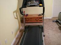 Excellent treadmill for sale. Folds away for easy