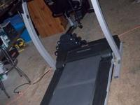 Nice recumbent bike and treadmill. Both Proform brand