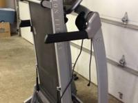 2009 Vision Fitness Premier Treadmill. Commercial