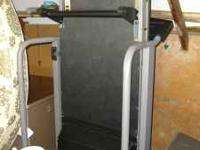 Great treadmill in good condition. Folds. You are