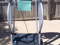 Well maintained pro-form treadmill tracks distance,