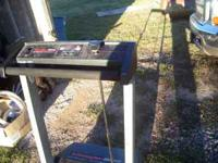 Treadmill for sale. Not the greatest, but it works. No