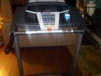 New Nordatrack treadmill for workout. Works great. Paid