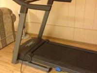 Treadmill utilized just twice retail price $800 on sale