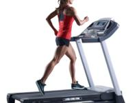 Built for powerful results, this treadmill features 16