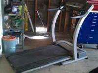 Treadmill excellent condition must sell just has some
