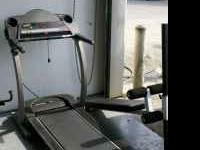 PROFORM TREADMILL 535X AND A FREE AB BENCH BY BODY