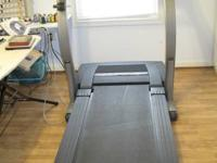 Treadmill - Proform E35s fresh, pre-owned really little