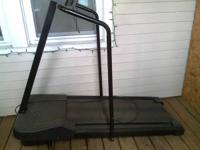Treadmill works great.$40. weight bench ...$40 includes