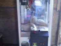 Used Treasure Chest claw machine in great condition,