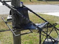 Have a tree stand for sale. tree Lounge, with bow stand
