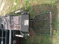 i have 2 hanging tree stands, they are great for bow or