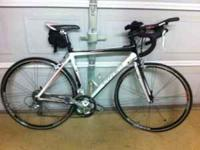 2 year old Trek 1.2 with Shimano gear. Size 54 cm. Only