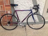 Trek 1200 road bicycle from the early 1990's.  This