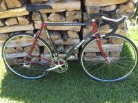 For sale is a 54cm late 90s Trek 2100 road bike,