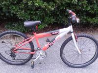 Trek red/silver 220(youth/small adult model for up to