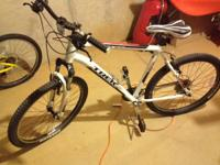 For sale I have my Trek 3 series 3700. It is basically