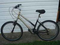 I HAVE A TREK 300 WOMANS 16.5 INCH MOUNTAIN BIKE IN