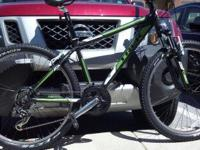 2011 Trek 3500 Size 16 Mountain Bike. Flat black and