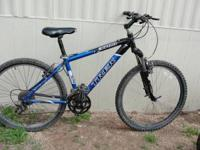 Nice mountain bike, with Dart 1 Rock Shocks and slime
