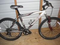 For sale: Trek 4300 mens mountain bike. $400. I think