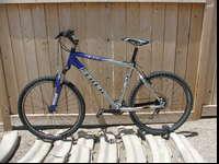 "Trek 4300 alpha aluminum frame 24 spd 18"" frame rides"