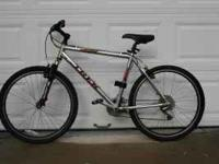 Trek 4500 Mountain Bike 24 speed Frame is Chrome in