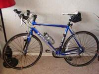 I have a Trek 56 cm men's road bike. I bought it brand