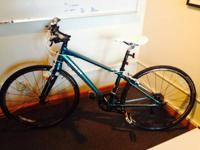 Offering my nearly new Trek bike. It is a women's