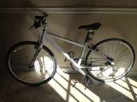 Trek 15 inch 7.6 Hybrid Mountain bike for sale. I only