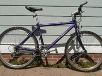 "Expedition 7000 mtb. Frame size is 18"", medium. light"