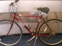 Trek 720 bicycle in good condition needs new seat and