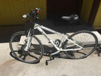 2015 Trek 7200 Hybrid. Bike is like brand new. Less