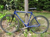 Decent shape 7200. It is rideable, tires hold air,