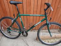 Good riding Trek mountain bike. Tires/rims basically