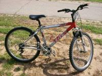 "Used 16"" Trek 800 mountain bike for sale in good"