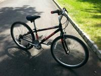 TRIP 18 speed mountain bike in a little size. Red and
