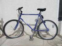 Selling my Blue Trek 8000 Aluminum Bike - Shimano Deore
