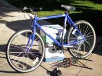 I'm selling a Trek 8000 Mountain Bike (blue/purple