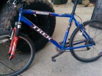 Trek 2001 with Judy Rock shox good condition barely
