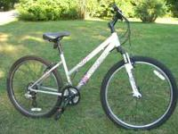 "TREK 820 MOUNTAIN BIKE 16 "" FRAME 26 INCHES TIRES, 21"