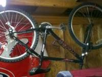 "Used Trek 820 in good working condition. 18"" frame and"