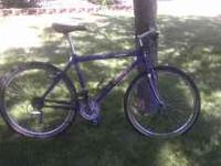 I have Mountain Track XC bike. It needs some minor