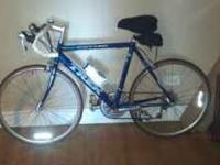 This bike has been in the house and is just like new.