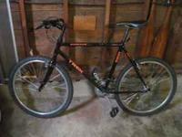 Bike is older but in great condition. $130 Call Justin