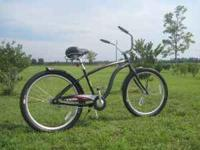 I'm selling a new Trek bicycle. It's a cruiser style
